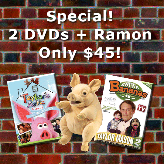 2 DVDs and Ramon