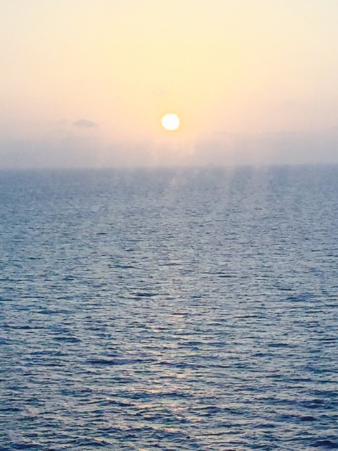 Sunrise over Long Beach Island, New Jersey