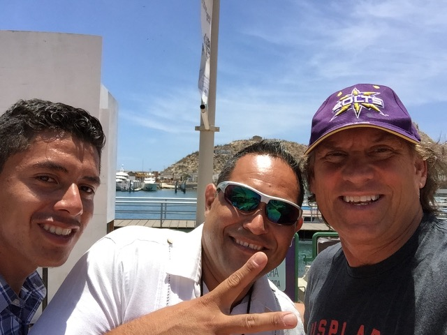 My taxi driver Jorge and partner in Cabo